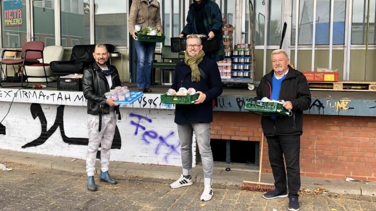Rettung der Tafel in Rothenburgsort